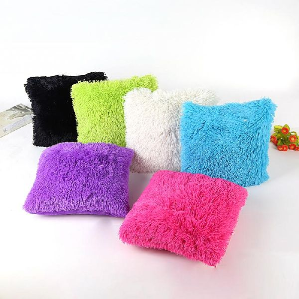 Shaggy Cushion Covers