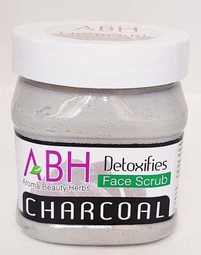 Charcoal Detoxifies Face Scrub