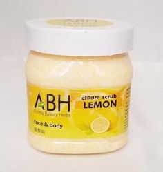Lemon Cream Scrub