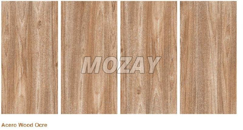 Acero Wood Ocre Matt Finish Glazed Vitrified TIle