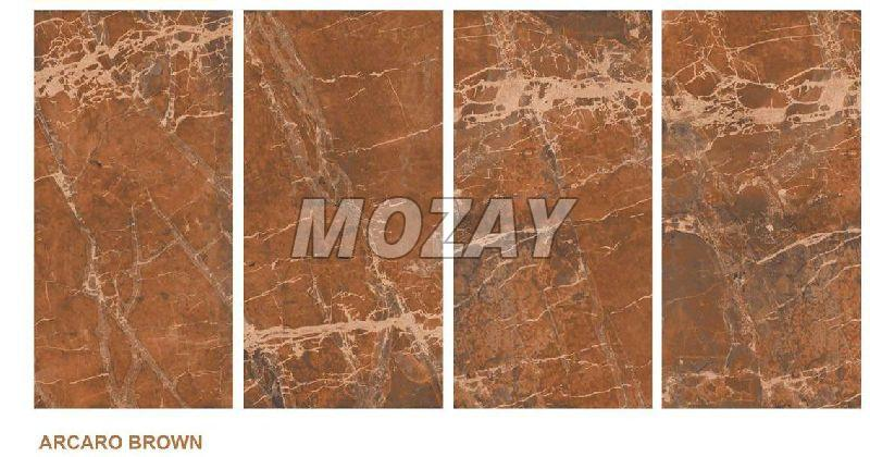 Arcaro Brown High Glossy Glazed Vitrified TIle