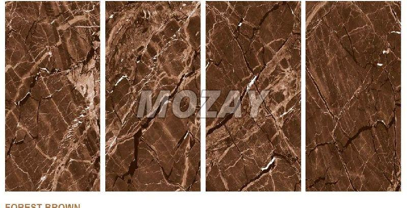 Forest Brown High Glossy Glazed Vitrified TIle