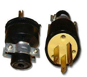 Male Electrical Plug