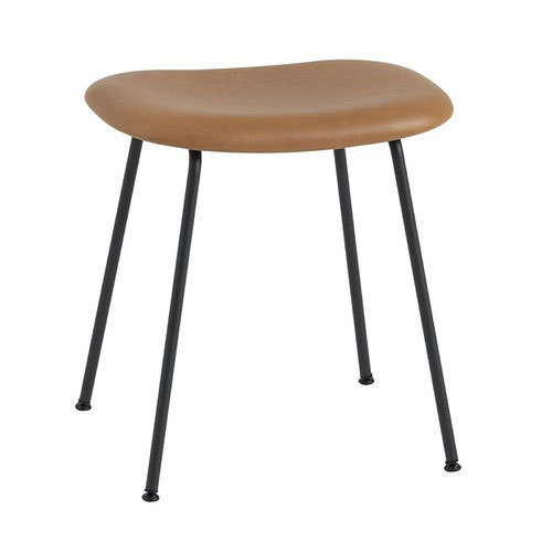Iron Leather Stool