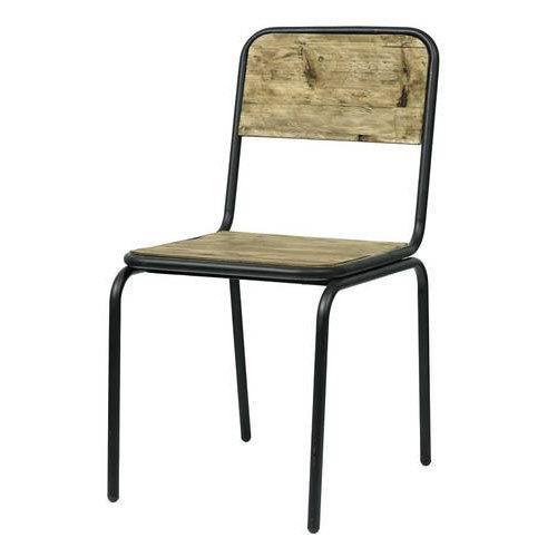 Iron Wood Chair