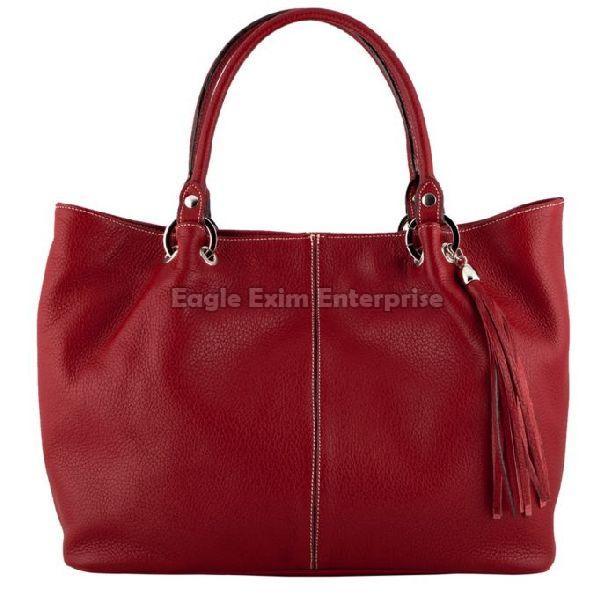 Ladies Brown Leather Handbag
