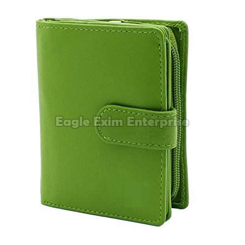 Ladies Green Leather Wallet
