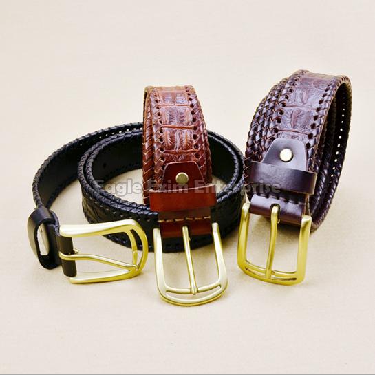 Mens Fancy Leather Belt