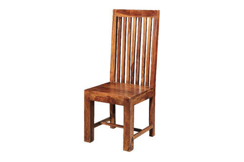 Wooden High Back Chair