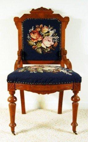 Wooden Victorian Chair
