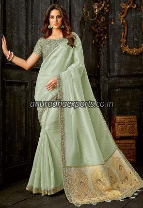 Designer Tissue Saree
