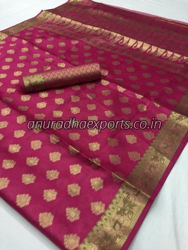 Fancy Tissue Saree