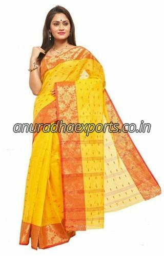 Printed Tant Saree