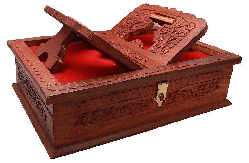 Wooden Rehal Box