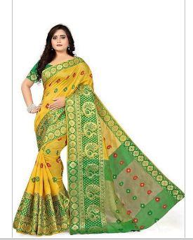 Art Banarasi Silk Saree