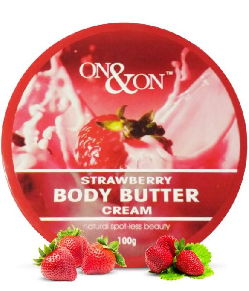 On & On Body Butter Moisturizing Cream