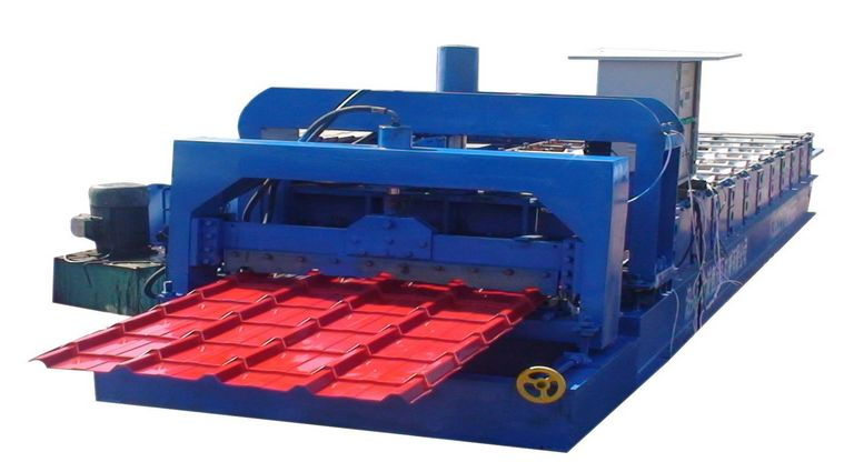 Roof Tiles Making Machine
