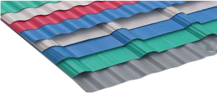 Coloured Roofing Sheet