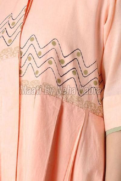 Pink Elephant Printed Dress