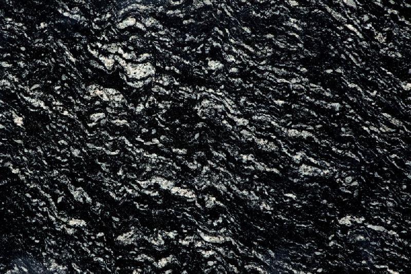 Marquina Black Granite Slab