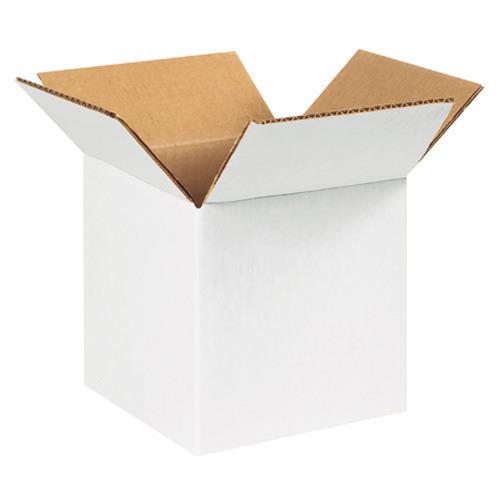 White Duplex Corrugated Box