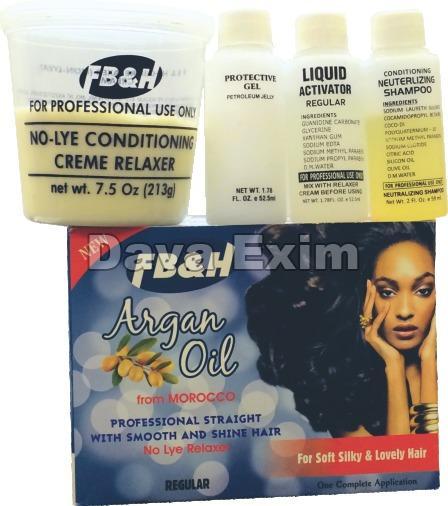 Argan Oil Hair Relaxer Kit