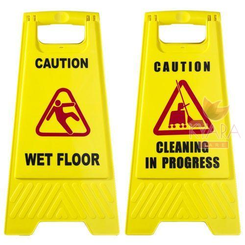 Cleaning Sign Board