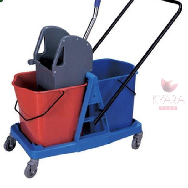 Double Bucket Wringer Trolley 02