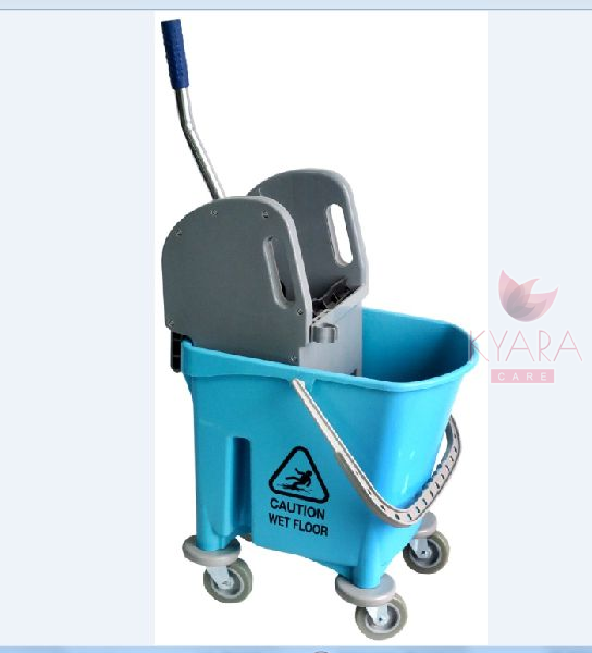 Single Bucket Wringer Trolley