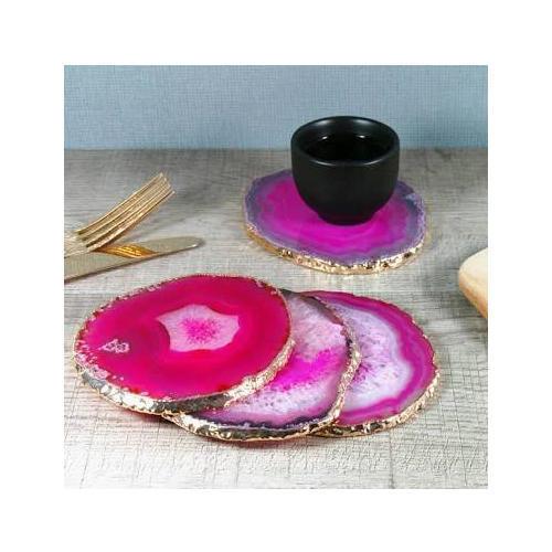 Tea Agate Coaster