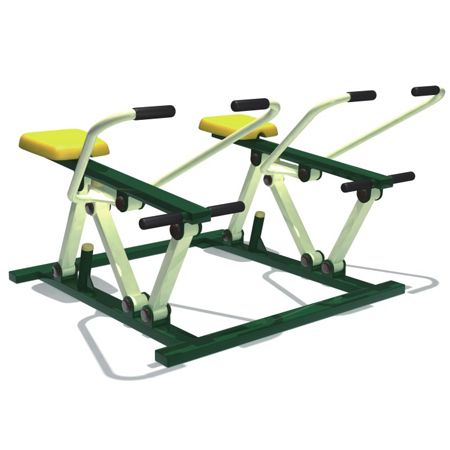 Outdoor Gym Rowing Machine