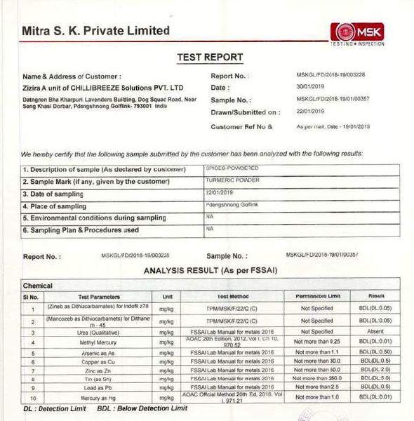 Lakadong Platinum 9.2% Curcumin Turmeric Combo Pack
