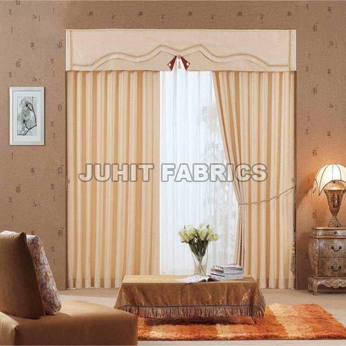 Cotton Plain Curtain Fabric