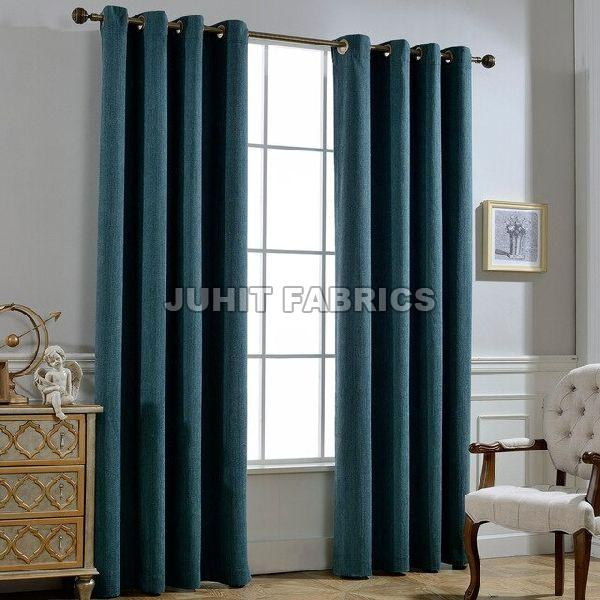Cotton Rayon Plain Curtain Fabric