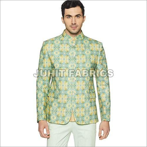 Mens Printed Blazer