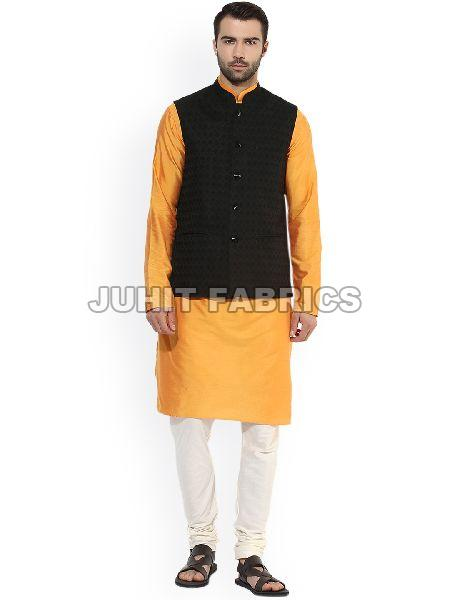 Mens Rayon Kurta Jacket Set