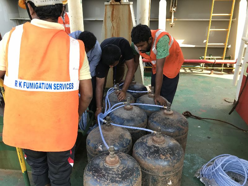 Vessel Fumigation Services