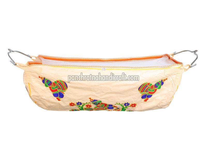 Embroidered Baby Cotton Jhula