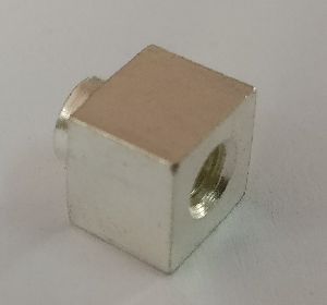 Brass Terminal Silver Plated