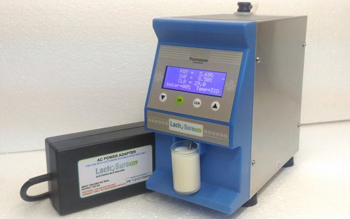 Lactosure Eco Ultrasonic Milk Analyser Without Solar Powered