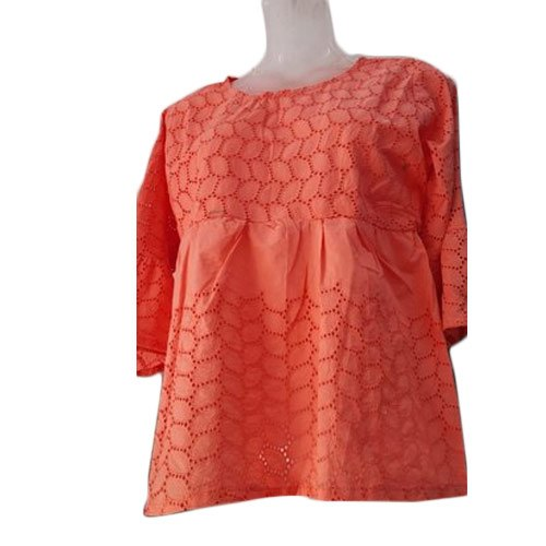 Ladies Cotton Net Top