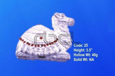 999 Silver Camel Statue