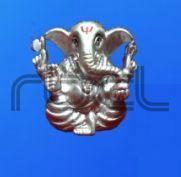 999 Silver Ganesh Statue
