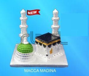 999 Silver Mecca Madina Statue