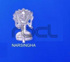 999 Silver Narasingha Statue