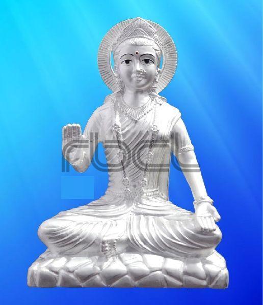 999 Silver Parvati Statue