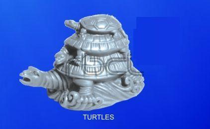 999 Silver Turtle Statue