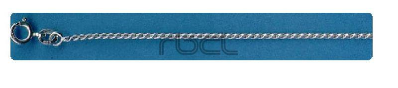CR50 Sterling Silver Round Curb Chain