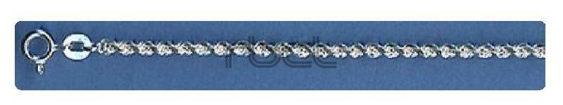 RCHD45  Sterling Silver Handmade Rope Chain
