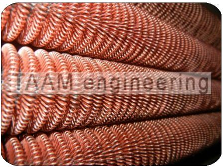 Copper Wire Wound Fin Tubes
